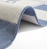 Bougari Buitenkleed - Twin Gandara Blauw