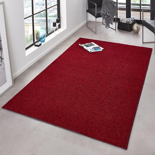 Laagpolig vloerkleed - Pure Rood