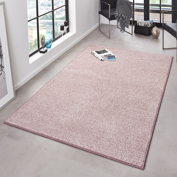 Hanse Home Laagpolig vloerkleed - Pure Roze