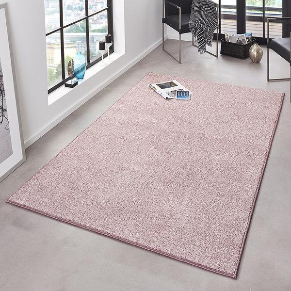Laagpolig vloerkleed - Pure Roze