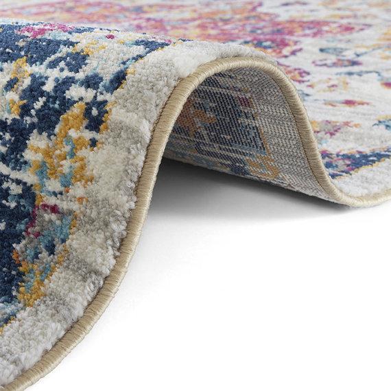 Nouristan Vintage vloerkleed - Lugar Bara Gekleurd