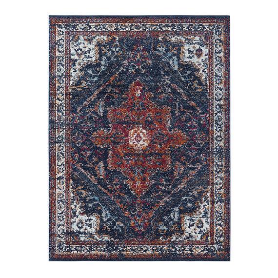 Nouristan Vintage vloerkleed - Lugar Azrow Blauw