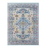 Nouristan Vintage vloerkleed - Lugar Agha Blauw
