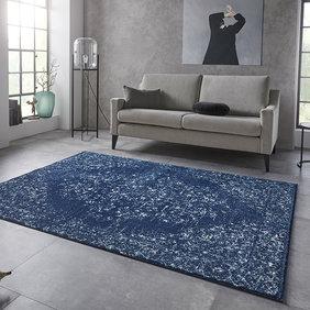 Nouristan Vintage vloerkleed - Lugar Pandeh Blauw