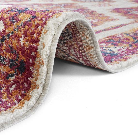 Nouristan Vintage vloerkleed - Lugar Daber Rood