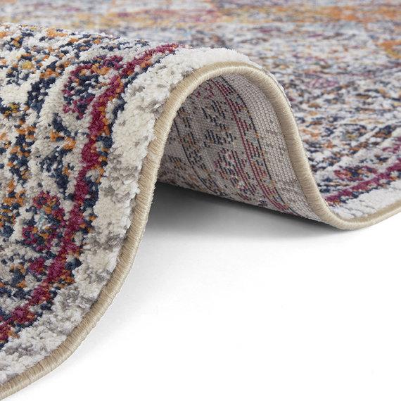 Nouristan Vintage vloerkleed - Lugar Kolal Gekleurd