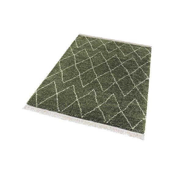 Mint Rugs Hoogpolig vloerkleed - Desire Jade Olijfgroen