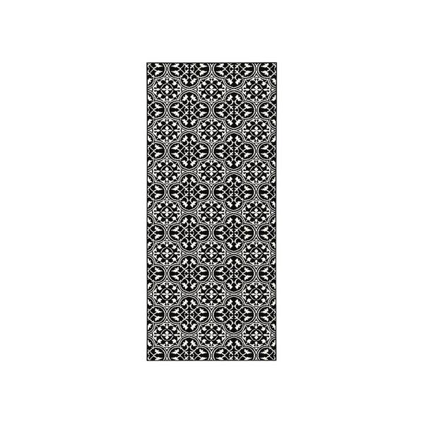 Laagpolige loper - Gloria Pattern Zwart