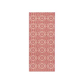 Hanse Home Laagpolige loper - Gloria Pattern Rood
