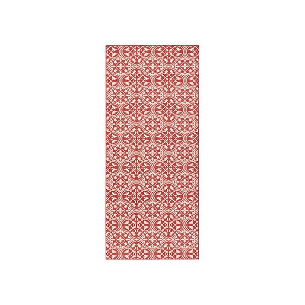Laagpolige loper - Gloria Pattern Rood