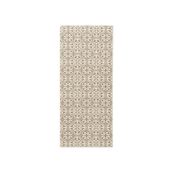 Laagpolige loper - Gloria Pattern Beige