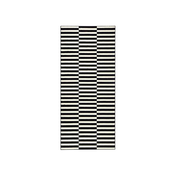 Laagpolige loper - Gloria Panel Zwart
