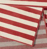 Hanse Home Laagpolig vloerkleed - Gloria Panel Rood