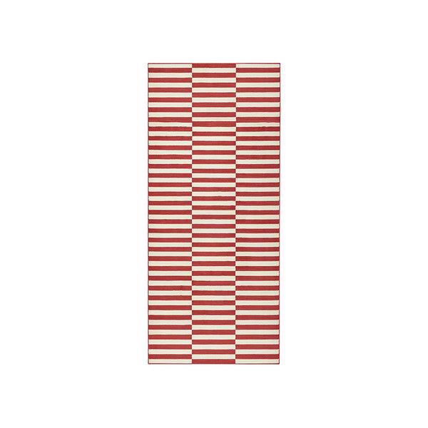 Laagpolige loper - Gloria Panel Rood