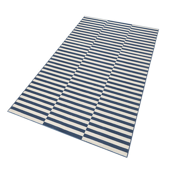 Hanse Home Laagpolige loper - Gloria Panel Blauw