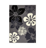 Hanse Home Bloemen vloerkleed - Gloria Flora Grijs