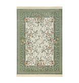Nouristan Perzisch tapijt - Naveh Flowers Groen Creme