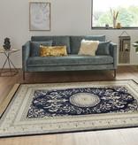 Nouristan Perzisch tapijt - Naveh Negar Donkerblauw