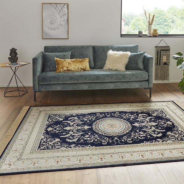 Perzisch tapijt - Naveh Negar Donkerblauw