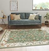 Nouristan Perzisch tapijt - Naveh Flowers Groen