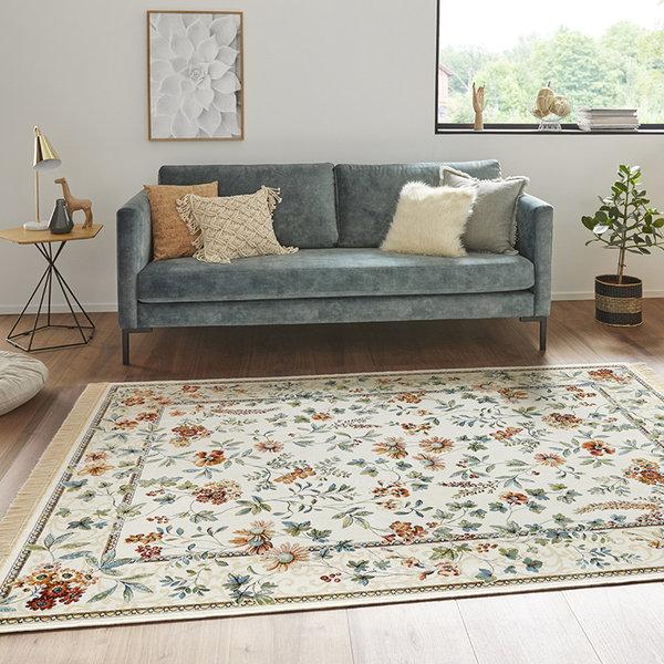 Perzisch tapijt - Naveh Flowers Original Creme