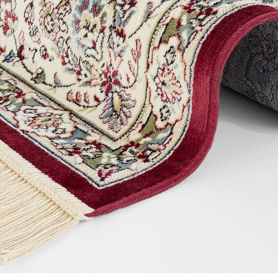 Nouristan Perzisch tapijt - Naveh Nain Rood Groen
