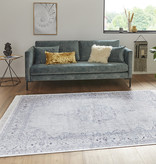 Nouristan Perzisch tapijt - Naveh Medaillon Lichtblauw