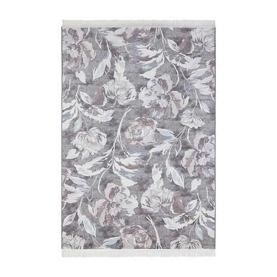 Nouristan Perzisch tapijt - Naveh Flowers Grijs