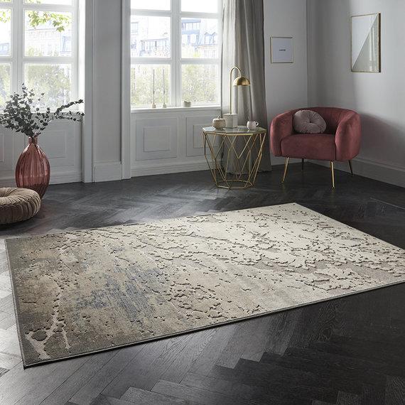 ELLE Decor Modern Vloerkleed - Creative Creuse Arroux Multi Grijs