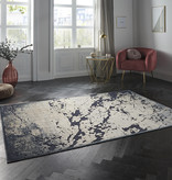 ELLE Decor Modern Vloerkleed - Creative Creuse Arroux Donkerblauw