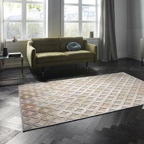 ELLE DECORATION Modern Vloerkleed - Creative Chiers Multi Zilvergrijs
