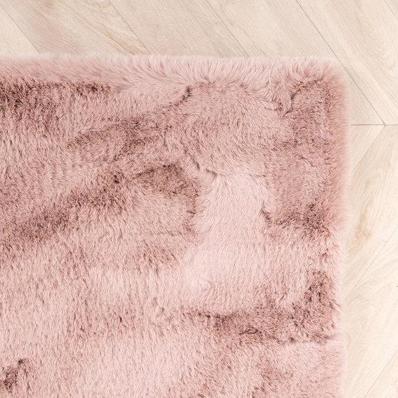 FRAAI Zacht Hoogpolig vloerkleed - Comfy Roze