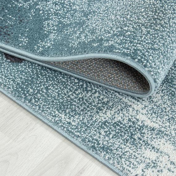 Adana Carpets Kindervloerkleed - Bambi Schildpad Blauw