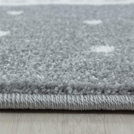 Adana Carpets Rond Kindervloerkleed - Amber Flamingo Roze
