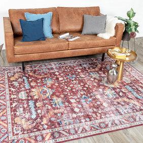 FRAAI Vintage vloerkleed - Azara Persia Rood