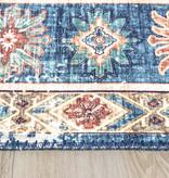 FRAAI Vintage vloerkleed - Azara Yasmin Lichtblauw