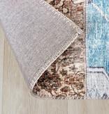 FRAAI Patchwork vloerkleed - Azara Blauw Rood