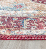 FRAAI Rond Vintage vloerkleed - Azara Rood
