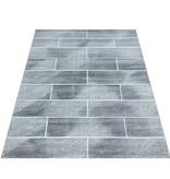 Adana Carpets Modern Vloerkleed - Brick Grijs 1110