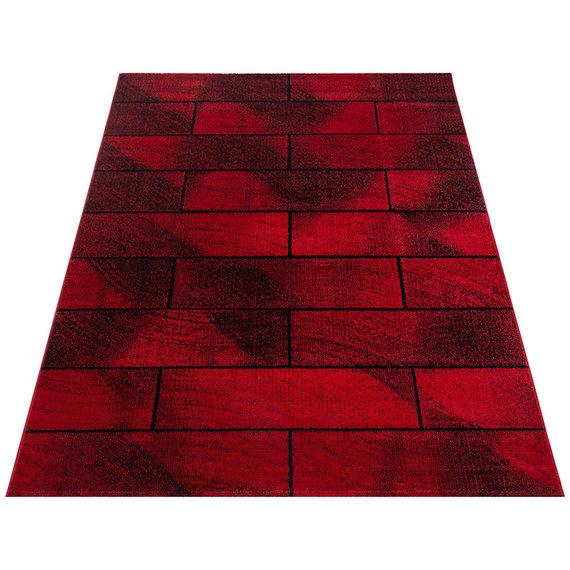 Adana Carpets Modern Vloerkleed - Brick Rood 1110