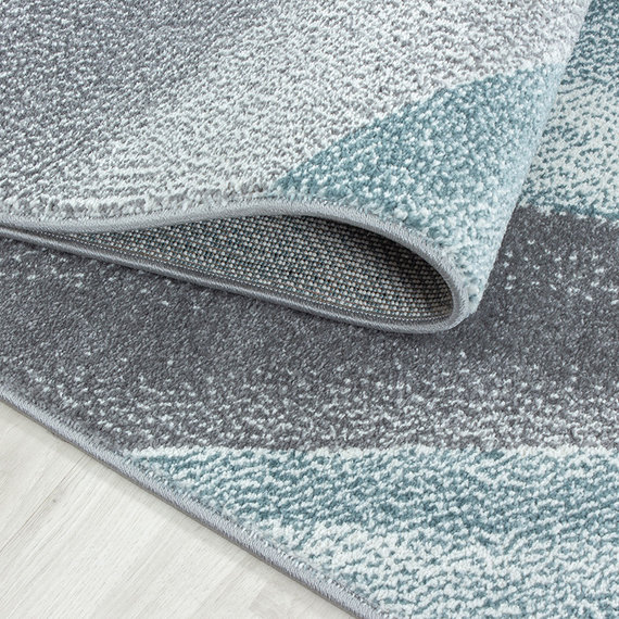 Adana Carpets Modern Vloerkleed - Brick Blauw 1130