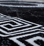 Adana Carpets Modern vloerkleed - Plus Zwart 8009