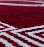 Adana Carpets Modern vloerkleed - Plus Rood 8009