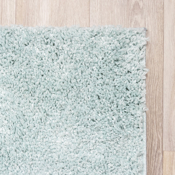 FRAAI Hoogpolig vloerkleed - Lofty Lichtblauw