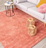 FRAAI Hoogpolig vloerkleed - Lofty Perzik Roze