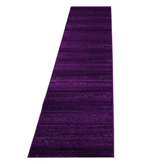 Adana Carpets Moderne loper - Plus Lila 8000
