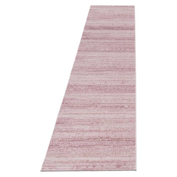 Adana Carpets Moderne loper - Plus Roze 8000