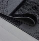 Adana Carpets Moderne loper - Plus Zwart 8003