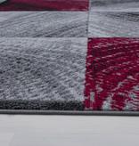 Adana Carpets Moderne loper - Plus Rood 8003