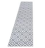 Adana Carpets Moderne loper - Plus Grijs 8005